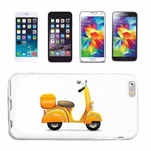 Reifen-Markt Hard Cover - Funda para teléfono móvil Compatible con Apple iPhone 5 / 5S Race Retro Scooter de Carreras de Fórmula Carretera de Motor de la Velocidad
