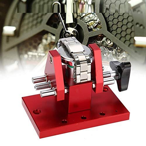 TMISHION Reloj Press Tool, Juego de Herramientas de reparación de relojero Snap On Watch Back Funda abridor Banco de Trabajo Removedor 07115