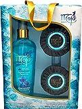 Maja Geschenkset Aqua Turquesa - zwei hochwertige Duftseifen und ein Bodyspray in luxuriöser...