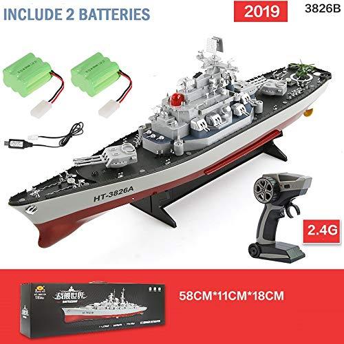 MODELTRONIC Nuevo Barco Radio Control Buque de Guerra Acorazado USS...