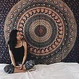 Brandless Tapiz en Blanco y Negro Tai Chi Colgante de Pared Decoración del hogar Toalla de Playa Estera de Yoga Tejido Decoración del hogar (200x150cm)