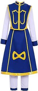 CosplayDiy Men's Suit for Anime Hunter x Hunter Kurapika Cosplay Costume