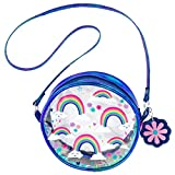 Stephen Joseph baby boys Iridescent Crossbody Purse, Rainbow Coin Purse, Rainbow, No Size US