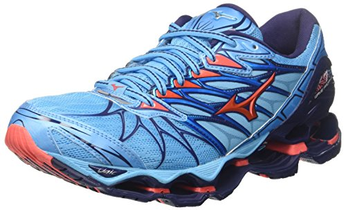 Mizuno Wave Prophecy 7 WOS, Scarpe da Running Donna, Turchese...