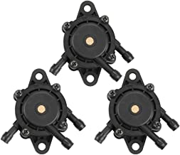 Wellsking 3 pcs 808656 491922 Fuel Pump for Briggs and Stratton 691034 Honda GX620 Cub Cadet LTX1046VT LTX1050VT John Deere LG808656 M145667 Kawasaki 49040-7001 Kohler 24 393 04-S Engine