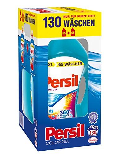 Persil Color Gel, 130 carichi di lavaggio, confezione da 2