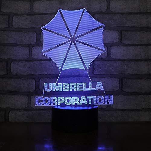 LED-Lampe mit Farbwechsel, USB-Nachtlicht