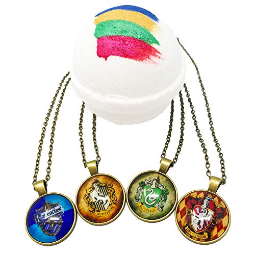 Wizard World Sorting House Bath Bomb with Surprise Pendant & Color MADE IN THE USA