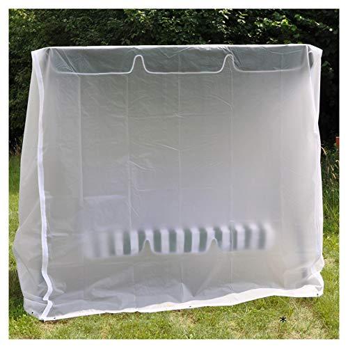 #1118 Hollywoodschaukel Abdeckhaube Wetterschutzhülle aus strapazierfähigem Kunststoff mit Reißverschluss • Schutzhülle Abdeckung Abdeckplane Garten Plane
