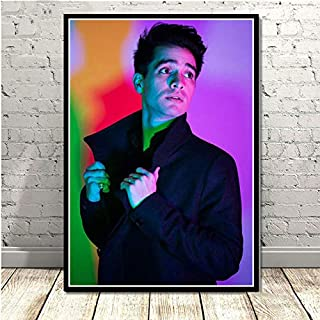 CHQUS Poster Brendon Urie Panic at The Disco Photo Wall Art Painting Canvas Wall Picture Room Home Decor no Frame 40x60cm