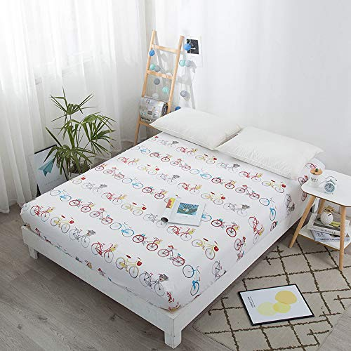 Hllhpc Kindercartoon enkel stuk 1,2 m1,5 m matras stofhoes