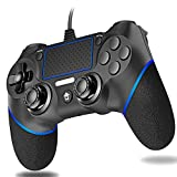 Cypin PS4 Wired Game Controller Wired Controller per PS4 USB Wired Dual Vibration PS4 Gamepad RemoteJoystick per Playstation 4/PS4 Slim / PS …