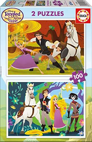 Frozen 2 x 25 piezas Puzzles Educa 16162