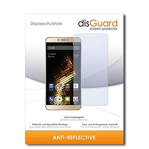 disGuard® Bildschirmschutzfolie [Anti-Reflex] kompatibel mit BLU Vivo 5 [3 Stück] Entspiegelnd, Matt, Antireflektierend, Extrem Kratzfest, Anti-Fingerabdruck - Panzerglas Folie, Schutzfolie