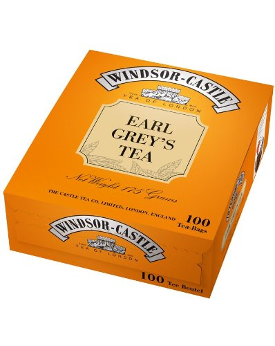Windsor-Castle Earl Grey's Tea, Tassenbeutel, 100er, 175 g