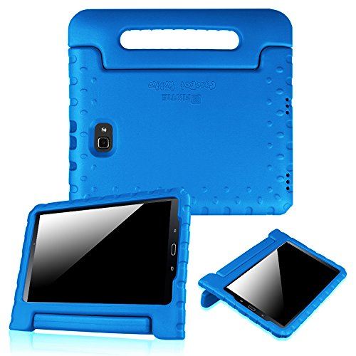 Fintie Shockproof Case for Samsung Galaxy Tab A 10.1 (2016 NO S Pen Version), Light Weight Convertible Handle Stand Kids Friendly Cover for Samsung Galaxy Tab A 10.1 Inch (SM-T580/T585/T587), Blue