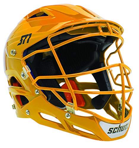 Schutt Sports ST1 Pitcher's Protector Softball Facemask with Matching Guard, White w/Matching Guard, Medium