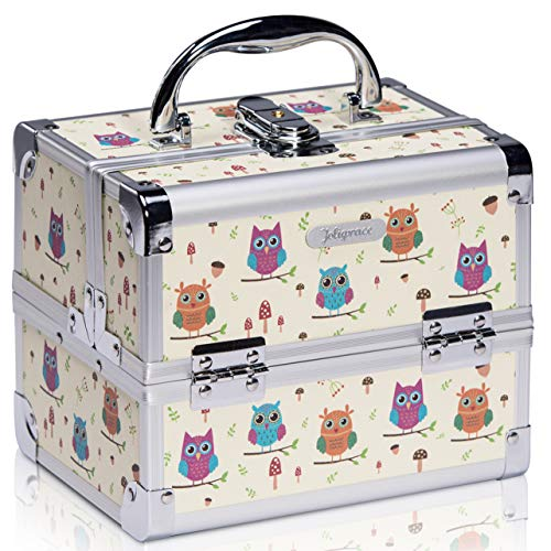 Joligrace Makeup Train Case...