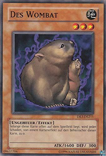 DR3-DE211 - des Wombat - Common - Yu-Gi-Oh - Deutsch - 1. Auflage