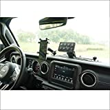 Voswitch JL100 8 Gang Programmable Switch Panel Power Control System Compatible with Jeep Wrangler JL JLU 2018 - Current and Gladiator 2020+