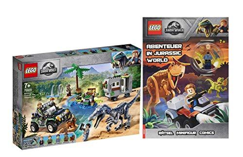 Collectix Lego Jurassic World 75935 Baryonyx - Juego de utensilios de cocina (libro de bolsillo, a partir de 7 años)