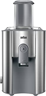 Braun Juice Extractor, Silver, 75 mm, J 700