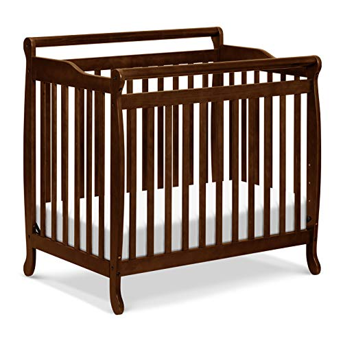 Product Image of the Emily 4-in-1 Convertible Mini Crib in Espresso, Greenguard Gold Certified