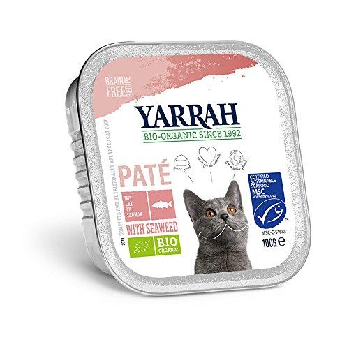 Yarrah Bio Pâté au Saumon pour Chat 100 g
