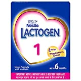 Nestlé LACTOGEN 1 Infant Formula Powder (Up to 6 months), Stage 1 - 400g Bag-In-Box Pack