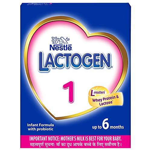 Nestlé LACTOGEN 1 Infant Formula Powder (Up to 6 months), Stage 1 - 400g Bag-In-Box Pack