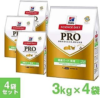 【ケース】サイエンス・ダイエット〈プロ〉猫用 【健康ガード 発育】 ~12ヶ月/妊娠・授乳期 3kg×4個