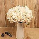 TXXT Flor Artificial Rama de Flores de hortensias Artificiales, Flor Falsa, para Casas de Bodas de Boda jardín Sala de Estar decoración (Color : B)