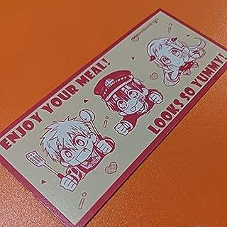 地縛少年花子くん GHOST HOTEL'S CAFE アニぱらカフェ池袋 地縛少年 心斎橋 フード特典 光特製初めてのエッグベネディクト カード