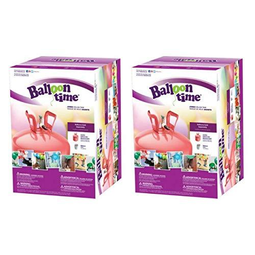 Balloon Time Jumbo 12' Helium Tank Blend Kit (2 Boxes)