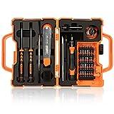 Juego de destornilladores EEEKit Precision 45 en 1 Kit de mantenimiento Herramientas de reparación para iPhone, iPad, teléfono celular Samsung, computadora y otros dispositivos electrónicos
