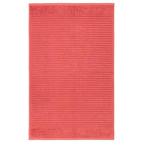 Tapis de bain ALSTERN - 50 x 80 cm - Rouge clair