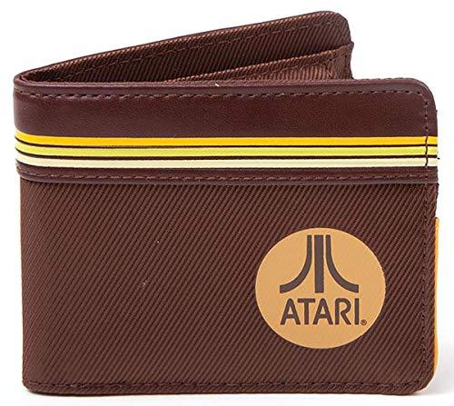 Official Brown Atari Round Logo Wallet