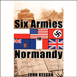 Six Armies in Normandy audiobook cover art
