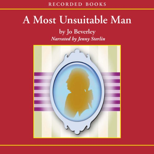 Most Unsuitable Man audiobook cover art