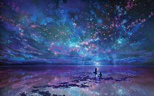 SuperPower® 1000 pieza Romántico Mar Aurora Estrellas Noche Cielo Estrellado Playa Amantes Pareja Proponer Matrimonio Paisaje Niños Adultos Juguetes Puzzles de madera