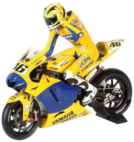 Minichamps 312060146 Pilota Riding V. Rossi MotoGP 2006 1/12 Valentino Rossi Collection