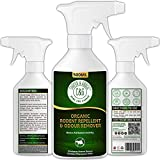 C&G Home and Garden | Organic Rodent Repellent 500ml | Natural Alternative To Mice Poison & Mouse Poison Indoors Outdoor | Peppermint Oil Rat Repellent & Mouse Repellent