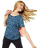 Cecil 316247 Camiseta, Azul Oscuro, XL para Mujer