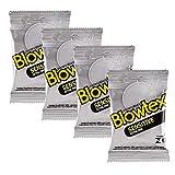 Kit c/ 4 Pacotes Preservativo Blowtex Sensitive c/ 3 Un cada