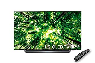 "LG OLED65C8PLA - Smart TV 4K OLED, 65"", con Inteligencia Artificial, Procesador Alpha 9, 100% HDR, Dolby Vision/Atmos, HDMI 4, Color Negro (B07B9HXV79) 
