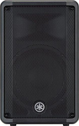 Yamaha DBR12 Monitor Diffusore Cassa Attiva Professionale, 1000 W Nero