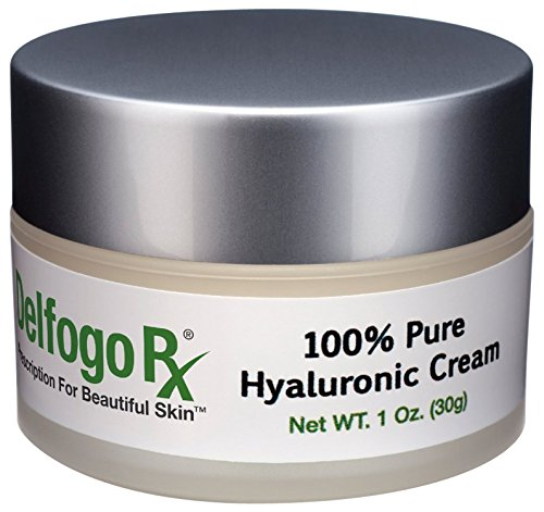 Delfogo Rx 100% Pure Hyaluronic Acid Cream | Targeted for Filling Wrinkles Quickly | Hyaluron is the Active Ingredient in Restylane