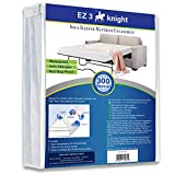 EZ3 Knight Sleeper Sofa Mattress Encasement Zippered – Sofa Mattress Protector Designed 100% Waterproof & Bacteria Proof, - Soft, Hypoallergenic Material - Queen Sleeper Sofa (60x72x5)