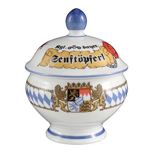 Seltmann Weiden 001.456005 Bayern Compact - Senftöpferl - Senftopf - 0,18 l