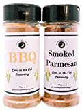 Premium | CORN ON THE COB Seasonings | Variety 2 Pack | Smoked Parmesan Corn on the Cob Seasoning | BBQ Corn on the Cob Seasoning | Calorie Free | Large Shakers
